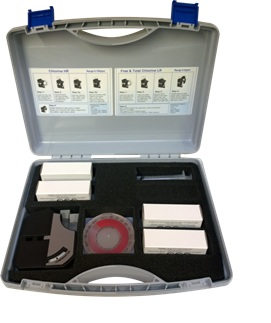 chlorine high range and low range comparator water testing kit